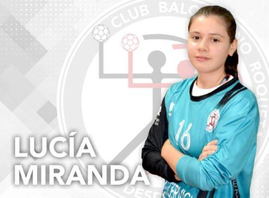 Lucía Miranda. Balonmano