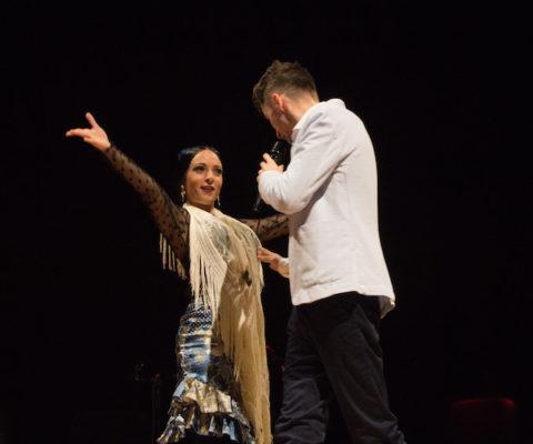 Tania Santiago y Francisco Miralles