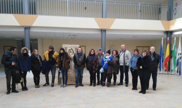 Visita Escuela Arte Almeria e Escuela Mármol