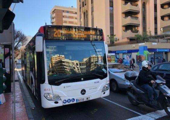 Autobus urbano. Almería