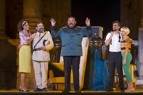 Mérida 09/08/2017.- 63 Festival de Teatro Clásico de Merida- La comedia de las mentiras. Foto/ Jero Morales