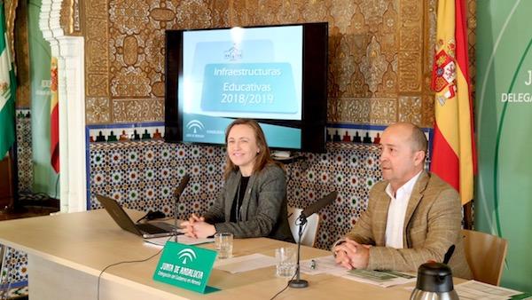 Rueda de prensa de Francisca Fernández para presentar el Plan de Infraestructura Educativa