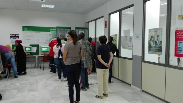 TIC SAE reinscripción demanda empleo