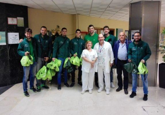 Unicaja Almería. Visita hospitales