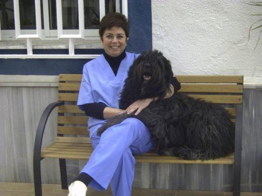 Yasmina Dominguez Cardona. Veterinaria