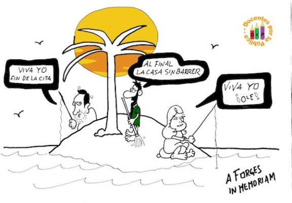Homenaje a Forges Docentes por la Pública
