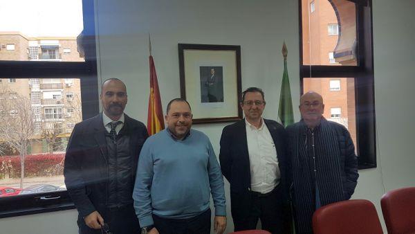 Reunión Asehor Consejería Agricultura