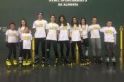 El club de patinaje Tres60 participa en el campeonato andaluz de Freestyle