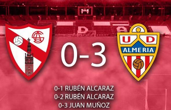 El Almería golea al Sevilla Atlético