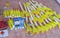 Encuentran 26 cohetes antigranizo en una finca de Alhama de Murcia