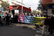Los pensionistas de Almería vuelven a protestar en la calle por la