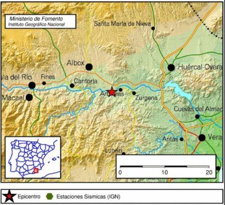 terremoto arboleas