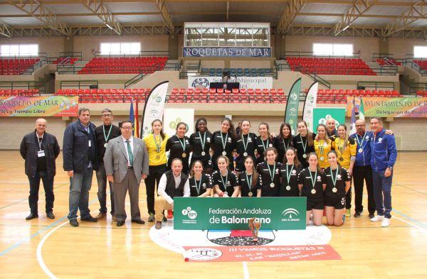 BM Roquetas, campeón femenino juvenil de Andalucía
