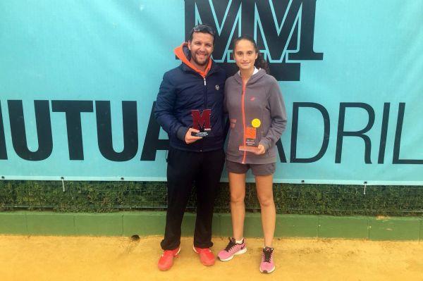 Maria Dolores Lopez Mutua Madrid Open sub16 Sevilla