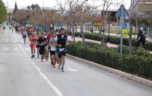 El Ejido celebró su Media Maratón con atletas de toda la provincia