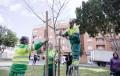 Almería planta una morera en el parque de Los Molinos para celebrar el día del árbol
