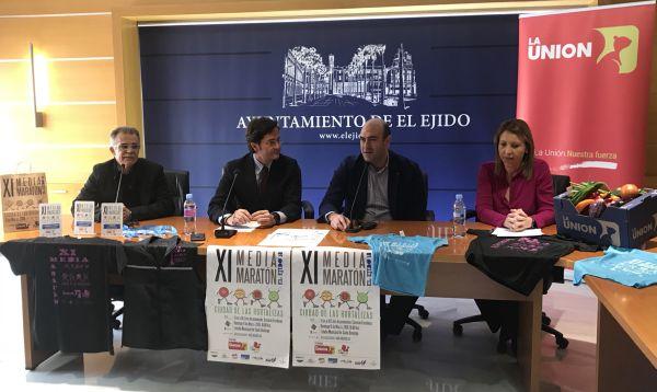 Alrededor de mil atletas participarán en la Media Maratón 'Ciudad de las hortalizas' en El Ejido