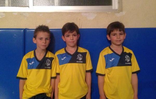 Tres gimnastas de La Salle, elegidos por la selección andaluza