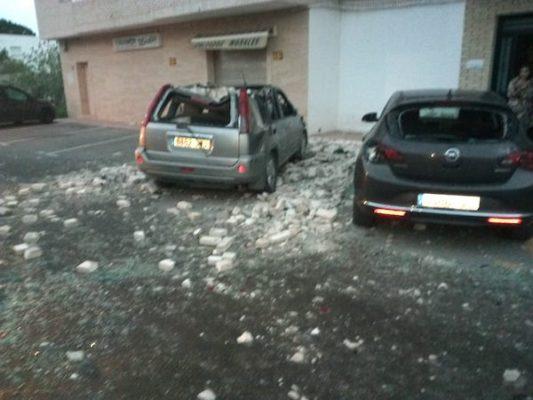 daños en vehículos