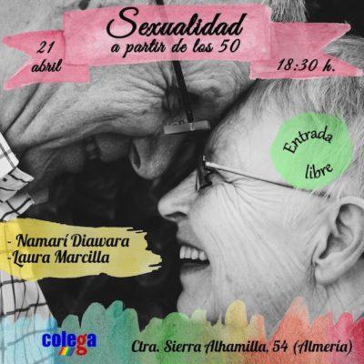 CHARLA SEXUALIDAD A PARTIR DE LOS 50