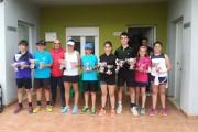 Daniel Lorenzo y Elia Durán, campeones provinciales de tenis en categoría alevín