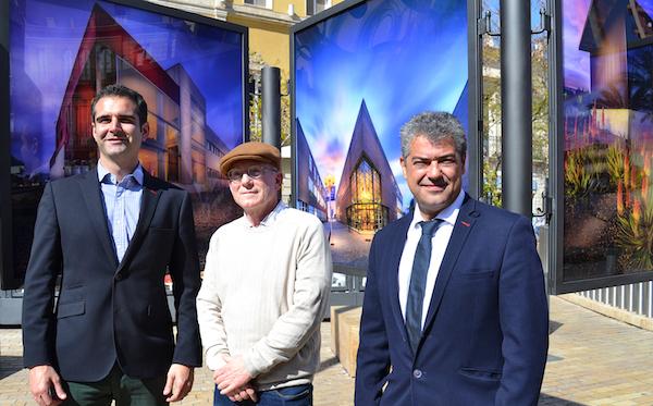 FOTO 1 ABRIL 03 2018 INAUGURACIÓN EXPOSICIÓN CONOCE LA UAL DE DOMINGO LEIVA
