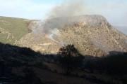 Infoca da por extinguido el incendio forestal declarado en el barranco de Carcauz, en Felix