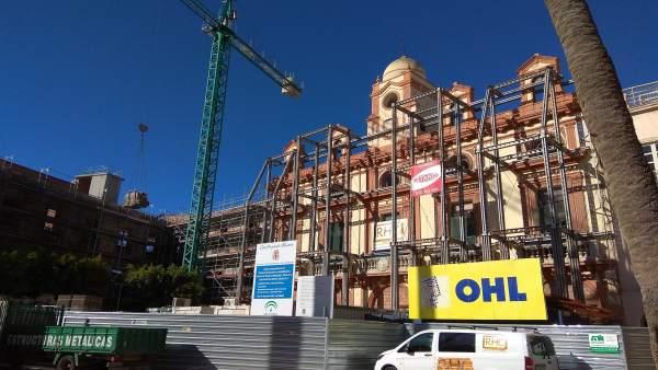 Plaza Vieja obras