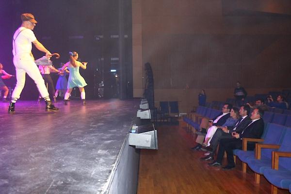 Momento de la presentación del 41 Festival de Teatro de El Ejido