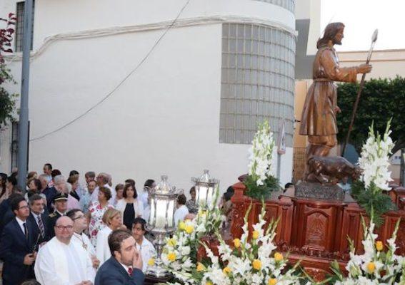 San Isidro. Procesión