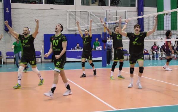 Unicaja Almería jugará la final de la Superliga de voleibol