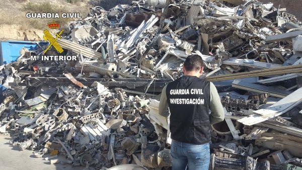 chatarra Guardia Civil