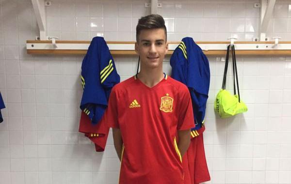 El roquetero Álex Baena jugó el Europeo sub-17 con la selección española