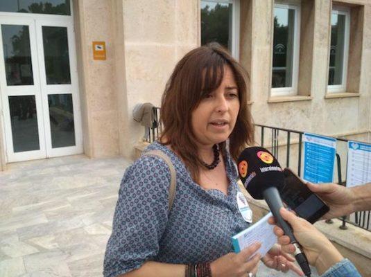 Carmen González, coordinadora de la campaña sanitaria de Podemos