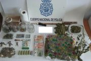Detenidas cuatro personas y desmantelada una 'guardería' de droga en Pescadería