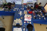Cae un grupo criminal georgiano responsable de 14 robos en viviendas en Almería