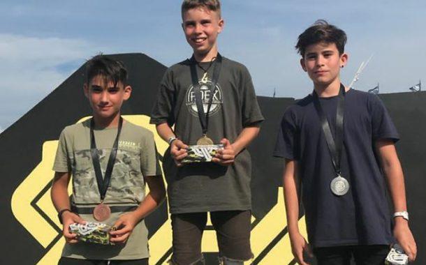 Un joven de 11 años de Vícar, sin patrocinadores, tercero en el ImaginExtrem Barcelona
