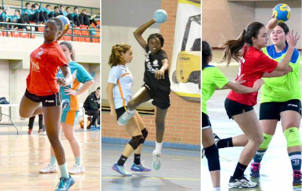 Tres jugadoras del CB Roquetas, en la selección andaluza cadete