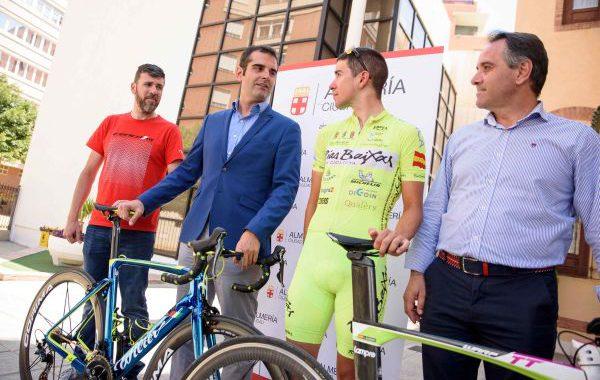 Antonio Barbero, preparado para el Campeonato de España de contrarreloj