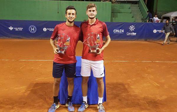 Javi Barranco y Raul Brancaccio, ganadores de la Copa del Rey de tenis