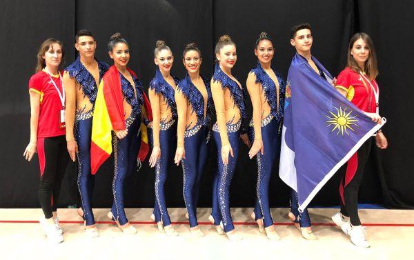 El CD Purpurina de Roquetas de Mar se proclama subcampeón del mundo de Gimnasia Estética