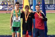 Luis Fernández, subcampeón de España de 300m.v. sub16