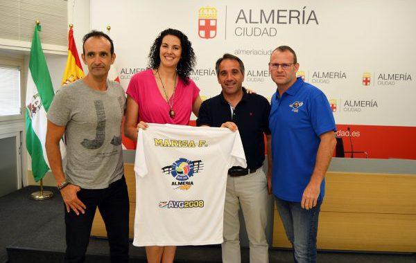 Marisa Fernández, jugadora y entrenadora del AVG 2008