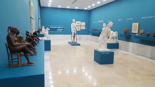 La obra escultórica de Antonio Campillo estrena la nueva sala del Museo Ibáñez