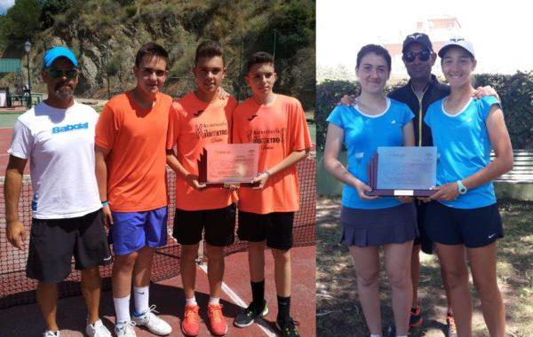 Doblete para el tenis ejidense en el Campeonato de Andalucía en cadetes