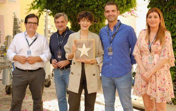 Blake Lively, nueva estrella del Paseo de la Fama de Almería