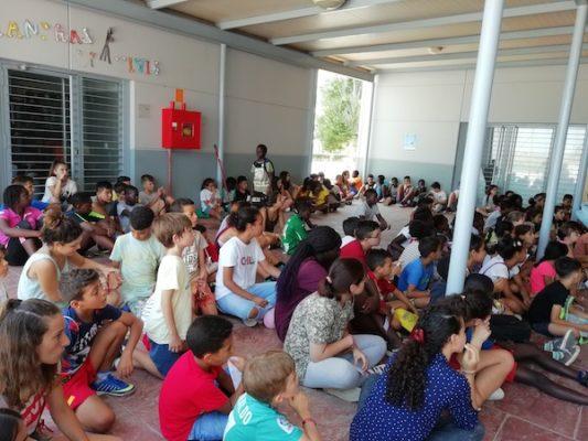La Escuela Abierta de Verano de Las Norias de Daza acoge a más de 200 adolescentes