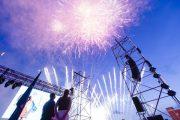 El pregón de la piloto García Malea y la iluminación del recinto dan inicio a la Feria de Almería