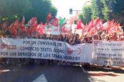 La huelga de los trabajadores del sector textil de Almería, un éxito según los sindicatos