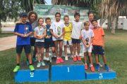 Manuel Cañadas y Andrea Trifan, campeones provinciales de tenis en la categoría benjamín